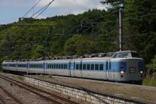 鉄道写真にチャレンジ!-中央本線 回9464M 183系 マリ31⑥