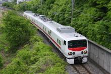 鉄道写真にチャレンジ!-中央本線 E193系 East i - D イーストアイディ