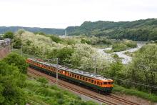 鉄道写真にチャレンジ!-しなの鉄道 169系 S52 湘南色編成