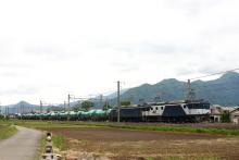 鉄道写真にチャレンジ!-しなの鉄道 2085レ EF64-1011 + EF64-1014 + タキ