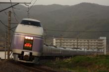 鉄道写真にチャレンジ!-中央本線 E351系 スーパーあずさ