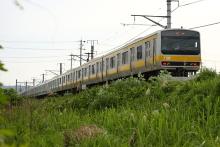 鉄道写真にチャレンジ!-配9233レ E231系ヤテ500番台6扉車