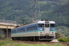鉄道写真にチャレンジ!-篠ノ井線 115系 稲荷山~篠ノ井