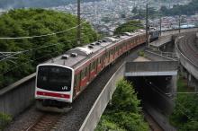 鉄道写真にチャレンジ!-中央本線 配9475レ EF64-1030 + 205系4B