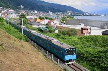 鉄道写真にチャレンジ!-中央本線 回9573M 201系ケヨ54+K4 10B