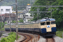 鉄道写真にチャレンジ!-115系で行くこんにちは富士山駅号