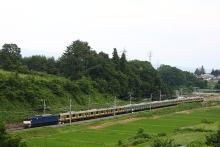 鉄道写真にチャレンジ!-配9233レ EF64-1031 + E231系(10B)