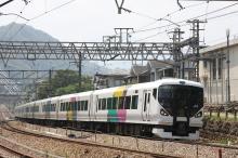 鉄道写真にチャレンジ!-中央本線 E257系 特急あずさ