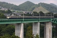 鉄道写真にチャレンジ!-中央本線 115系 スカ色 山梨県