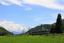 鉄道写真にチャレンジ!-中央本線・旧線 115系 クモハ123形の代走