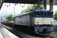 鉄道写真にチャレンジ!-工9475レ 岡谷工臨 EF64-39 チキ6B