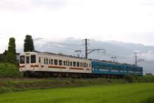 鉄道写真にチャレンジ!-飯田線 119系 M3+M4