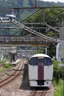 鉄道写真にチャレンジ!-9591M 215系 NL3 ホリデー快速ビューやまなし