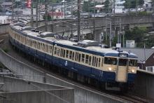 鉄道写真にチャレンジ!-諏訪湖花火臨時列車 115系M40 豊田車