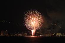 鉄道写真にチャレンジ!-2011年 諏訪湖花火大会