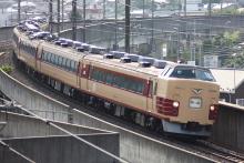 鉄道写真にチャレンジ!-臨時特急あずさ54号 オオOM103