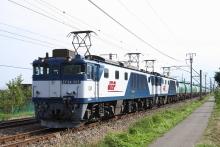 鉄道写真にチャレンジ!-中央西線 3088レ EF64-1015+EF64-1009+タキ18B