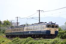 鉄道写真にチャレンジ!-中央本線 115系 スカ色