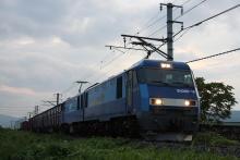 鉄道写真にチャレンジ!-中央本線 EH200-19 2082レ
