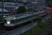 鉄道写真にチャレンジ!-回9498M ムーンライト信州81号 送り込み回送