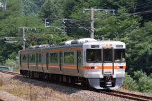 鉄道写真にチャレンジ!-中央西線 313系 B308