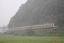 鉄道写真にチャレンジ!-2011.09.03 新作花火臨時列車 E233系