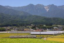 鉄道写真にチャレンジ!-飯田線 119系 七久保