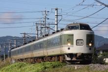 鉄道写真にチャレンジ!-かいじ180号送り込み回送