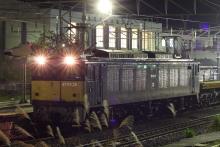 鉄道写真にチャレンジ!-工9475レ 川中島工臨 EF64-38 + チキ(6B)