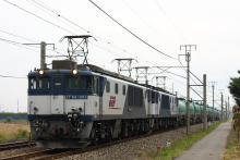 鉄道写真にチャレンジ!-中央西線 3084レ EF64-1005 + EF64-1037 + タキ