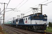 鉄道写真にチャレンジ!-中央西線 6338レ EF64-1034 + EF64-1040 + タキ