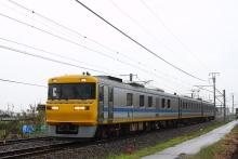 鉄道写真にチャレンジ!-中央西線 試9832D キヤ95系