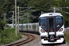 鉄道写真にチャレンジ!-中央本線 E257系