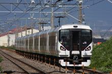 鉄道写真にチャレンジ!-中央本線 みどり湖駅 E257系