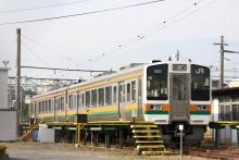 鉄道写真にチャレンジ!-飯田線 213系 伊那松島
