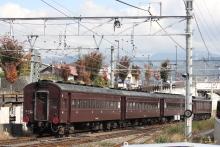 鉄道写真にチャレンジ!-旧型客車 返却回送 EF64-37