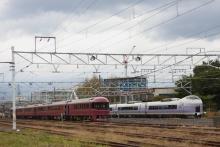 鉄道写真にチャレンジ!-485系 「宴」 団体臨時列車