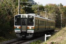 鉄道写真にチャレンジ!-飯田線 213系 H8編成
