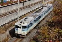 鉄道写真にチャレンジ!-115系 ナノN53