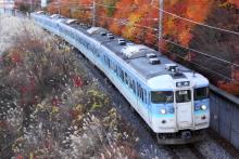 鉄道写真にチャレンジ!-115系 ナノN33編成