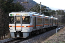 鉄道写真にチャレンジ!-飯田線 313系 R101
