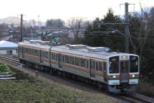 鉄道写真にチャレンジ!-飯田線 213系 H4