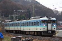 鉄道写真にチャレンジ!-飯田線 2225M 快速みすず 115系ナノN32