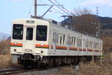 鉄道写真にチャレンジ!-2011.12.14 飯田線 119系 R1 554M