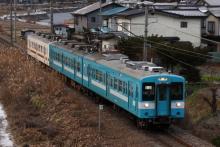 鉄道写真にチャレンジ!-飯田線 223M E4+M2