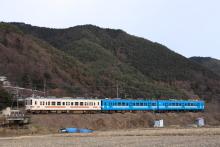 鉄道写真にチャレンジ!-2011.12.26 1262M M3+E4編成 飯田線