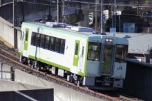 鉄道写真にチャレンジ!-2011.12.27 キハ110-109 NN出場回送