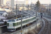 鉄道写真にチャレンジ!-2011.12.29 回9460M あずさ81号 回送