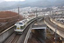 鉄道写真にチャレンジ!-2011.12.29 9081M 臨時あずさ81号