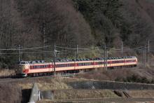 鉄道写真にチャレンジ!-2011.12.30 臨時特急あずさ77号 オオOM103